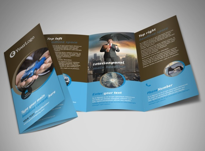 generic tri fold brochure